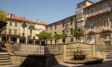 Plaza del Teucro - PONTEVEDRA