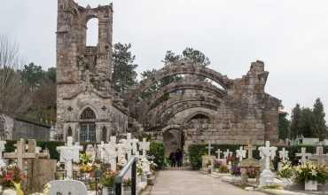 Ruinas de Santa Mariña Dozo - CAMBADOS
